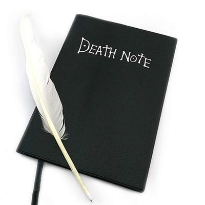 Fashion Anime Theme Death Note Cosplay Notebooks New School