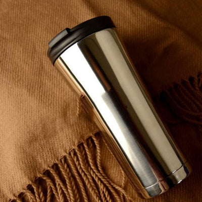 High Quality 500ml Double Wall Stainless Steel Coffee Mug Thermos Cup Coffee Tea Mug Milk Water Bottle