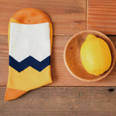Caramella Banana Cotton Women/Men Kawaii Fruit Crew Socks - HimalayasGears.com