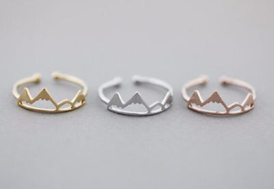 New Fashion Open Mountain Rings - HimalayasGears.com
