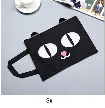 Cute Cat A4 Bag Fabric File Folders