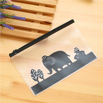 2 Pieces School Stationery Lovely Cute Kawaii Animals Creative Folders