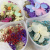 Mixed Dried Flowers With Heart-Shaped Box Art Decorations Artificial Flowers