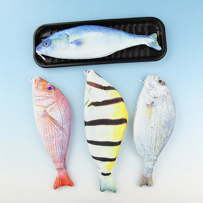 Fish Pencils Case Cute Simulation Pencil Cases School