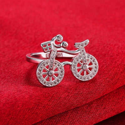 Bicycle Charmings Ring