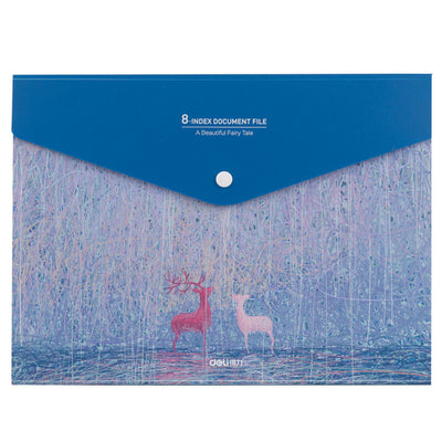 Waterproof A4 Expanding Wallet Category Management File Folders