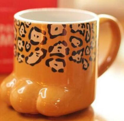 Cat Claw Water Mug Ceramic Milk Cup Tea Glass Cup