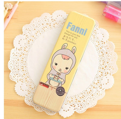 New Cute Animal Cartoon Stationery Storage Pen Pencil Cases
