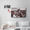 Horse Canvas Print - Some of Us Never Grow Out of the 'I Love Horses' Stage