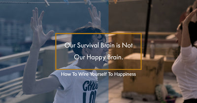 Our Survival Brain is Not Our Happy Brain