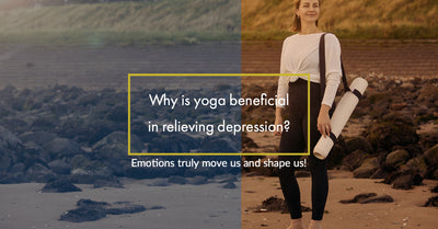 Why is yoga beneficial in relieving depression?