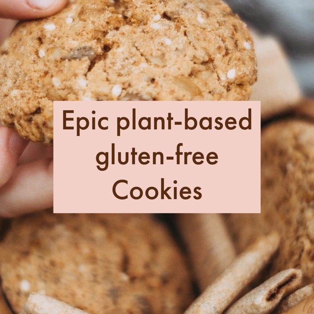 Epic Plant-Based Gluten-free Cookies - 10 minutes mix!