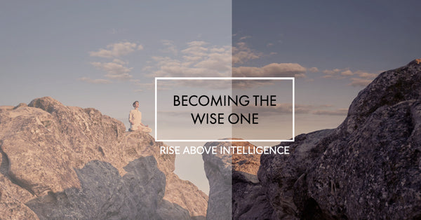 Becoming The Wise One - Rise above intelligence