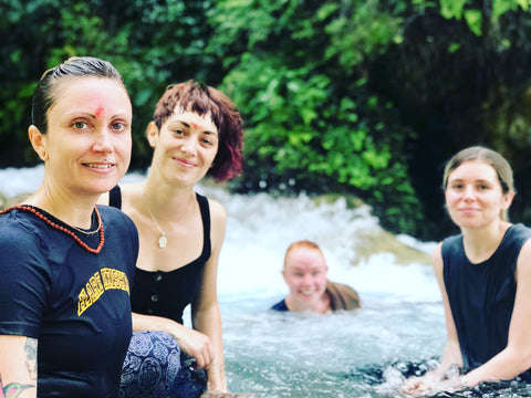 Complete Unity Yoga Retreats Rishikesh Waterfall