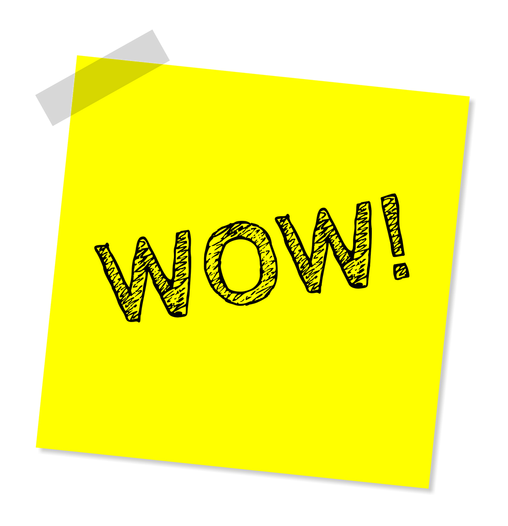 """ONE simple step to improve your sleep and ultimately take your life to the next level - picture of a yellow sticky note saying: """"wow"""""""