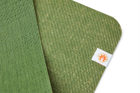 CompleteGrip™ Eco Yoga Mat - Complete Unity Yoga - Forest Green 4mm