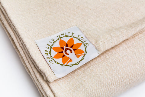 100 Percent Cotton Yoga Meditation Blanket - Complete Unity Yoga