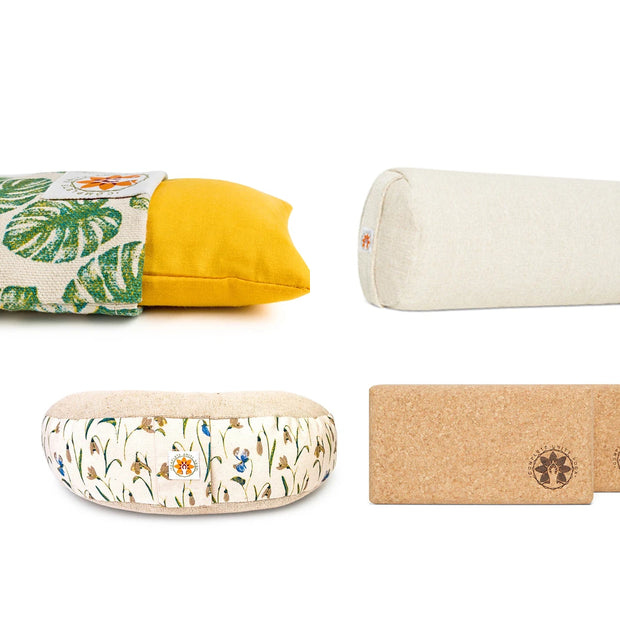 Nourishing Restorative Yoga Set