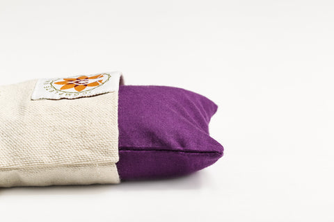 Meditative Purple Eye Pillow - Yoga and Meditation Equipment - The Om Sadhana Collection