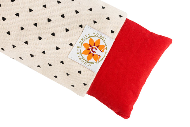 Natural Print Eye Pillow - Yoga - Relaxation - Meditation