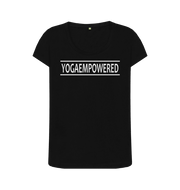 Original Yoga Empowered Yoga T-Shirt - Complete Unity Yoga - Classic Black