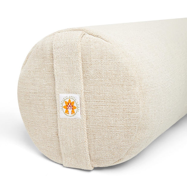 Restore Yoga Natural Bolster - Natural - Close Up - Complete Unity Yoga