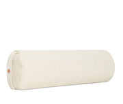Restore Yoga Natural Bolster - Natural -Side View - Complete Unity Yoga