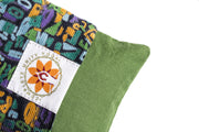 Retro Print Eye Pillow - Yoga and Meditation Equipment - The Om Sadhana Collection