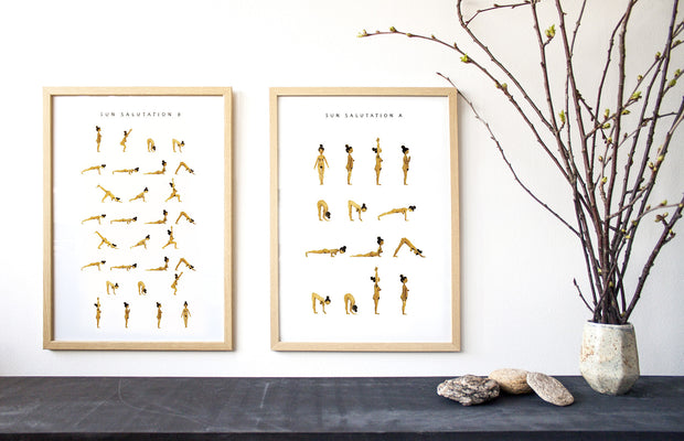 YOGAPRINTS_SUNSALUTATIONS A and B