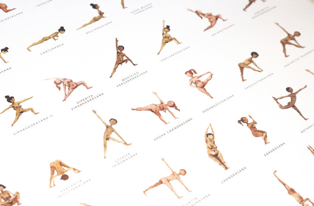 Yoga Art Work - Yoga Prints