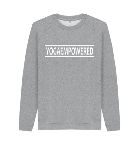 Yoga Empowered - Organic Men's Yoga Jumper
