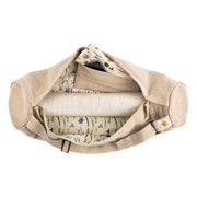 Yoga Mat Bag - Meadow Of Enlightenment - Complete Unity Yoga - Natural - Arial View