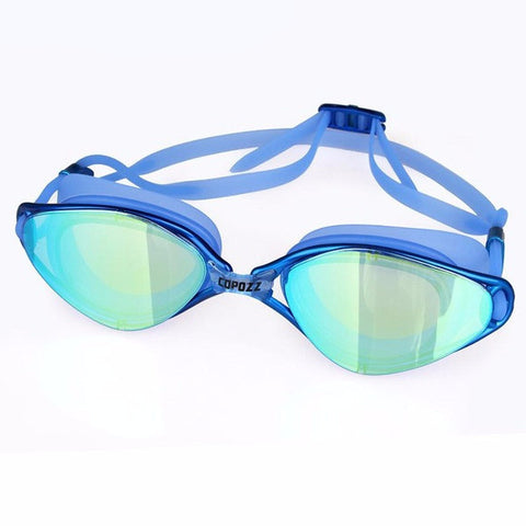 Copozz Anti-Fog/Breaking UV Adjustable Swimming Goggles Multiple Colors