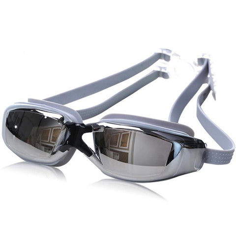 Swampland Swim Goggles Men Women Anti-fog UV Protection Multiple Colors