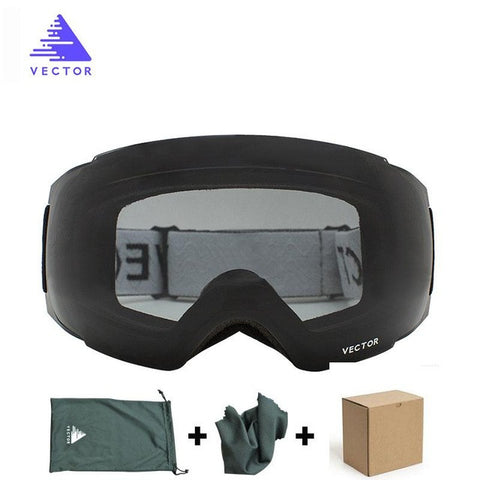 Vector Double Lens UV400 Anti-fog Ski Goggles