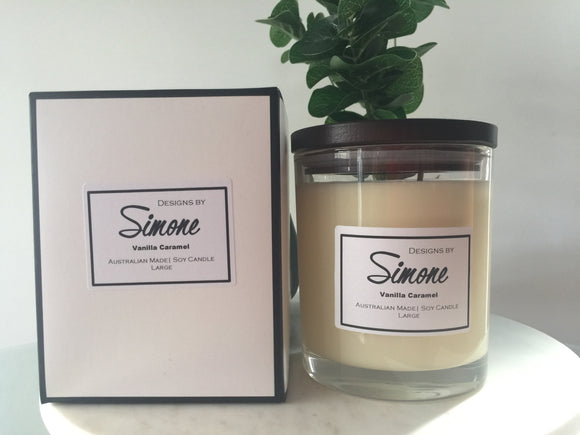 Scented Soy Candle - Large 400grams