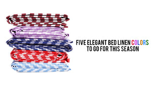 Five elegant bed linen colors to go for this season