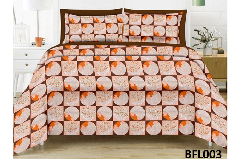 bed sheets pattern. Florista Circle Pattern Double Bedsheet Bed Sheets
