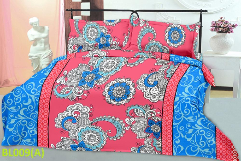 Blossom Abstract Floral Pattern Double Bedsheet