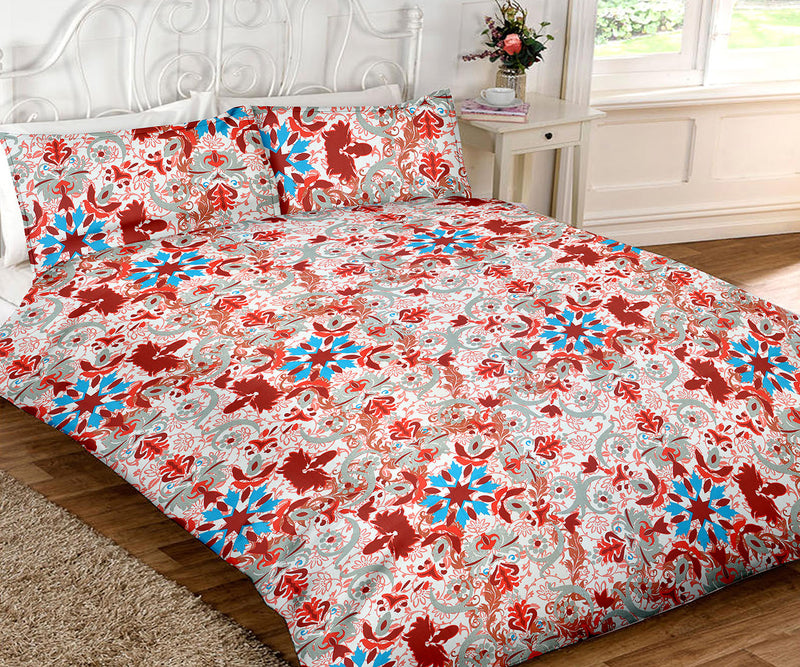 Blossom-King-size-Motifs-Pattern-printed-Double-Bedsheet-1