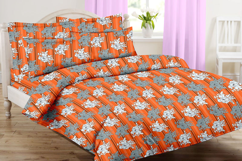 Sunflower-King-size-Floral-Pattern-Printed-Double-Bedsheet-1