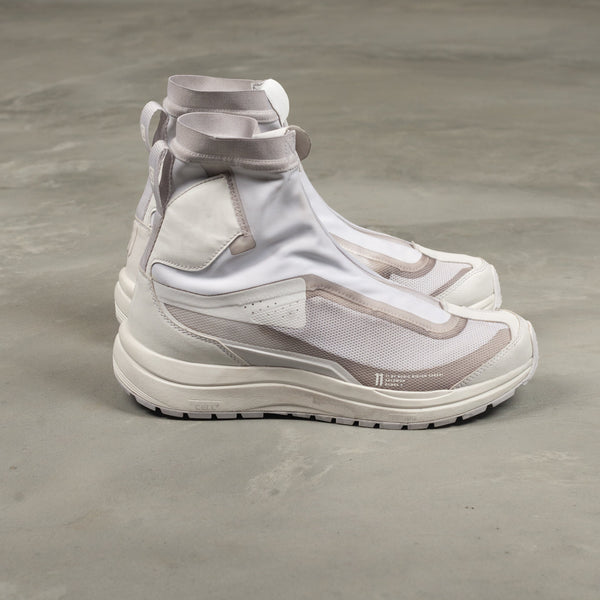 Bamba 2 High 11xS Sneakers - White / Light Grey Dye-11 by Boris Bidjan Saberi-SUPPLIES & COMPANY