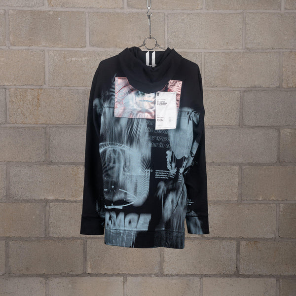 11 by Boris Bidjan Saberi H1B Black Hoodie SUPPLIES AND CO