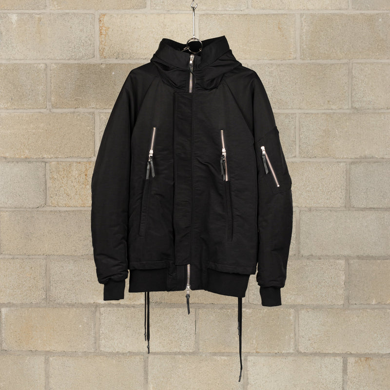 J17 F-1323 Jacket - Black-11 by Boris Bidjan Saberi-SUPPLIES & COMPANY