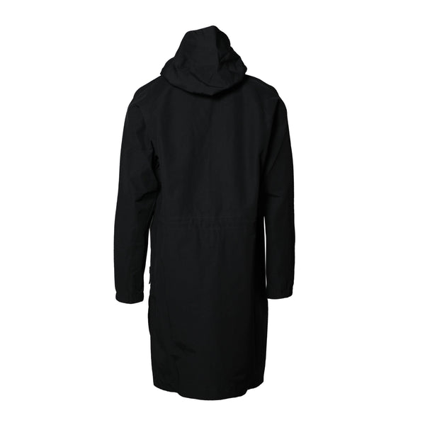 11 By Boris Bidjan Saberi K1 Black 11 Logo Coat SUPPLIES AND CO