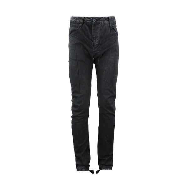 P1 Black Used Skinny Denim Pants-11 By Boris Bidjan Saberi-SUPPLIES & COMPANY