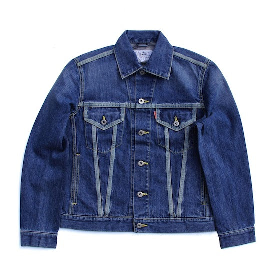 Bleach Line Jean Jacket - Indigo