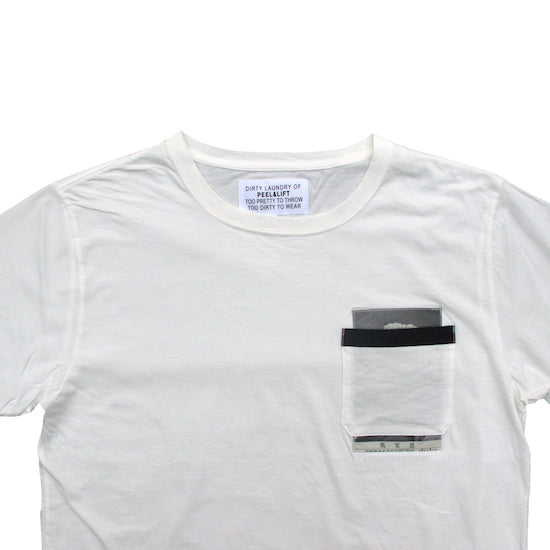 Marx Pocket T-Shirt / White