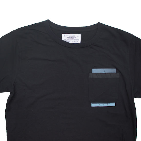 Marx Pocket T-Shirt / Black