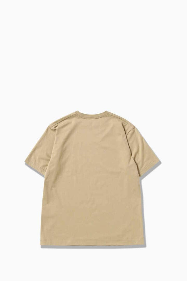 MOUNTAIN by JERRY UKAI Short Sleeve T-Shirt - Beige
